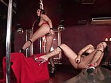 Temptress Kathy and Maria Bellucci teasing and making out