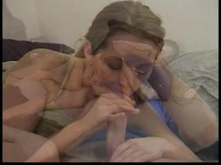 Young redhead gives boyfriend hot oral sex with deep throat