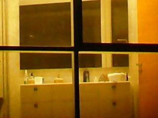 Hidden Camera Milf Voyeur video: Milf Neighbor Spy Toilet and Shower