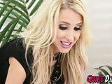 Sluty blonde Alix Lynx adores to be stuffed with hard cock
