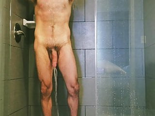 Massive firehose in the shower