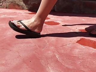 Sandal wedge Flip Flop