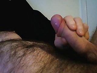 Cumming all over tummy...