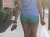 Lush Lady Walking Short-Cut Gym Shorts