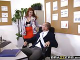 Brazzers - Big Tits at Work - The Whole Package scene starri