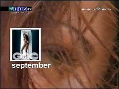 Fashion Tv Midnight Molten Aida Yespica - G.q. Calendar 2005