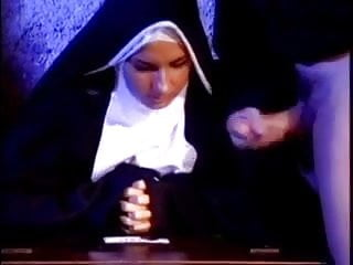 Cock crazed nun gives me blowjob of my...