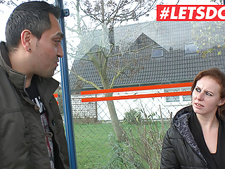 LETSDOEIT – Newbie German Picked Up From The Bus Station