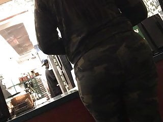 Big Ass Hood Bubble vid: Bubble in army fatigues