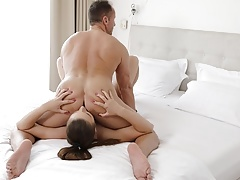 RIM4K. Busty babe is excited to surprise her boyfriend