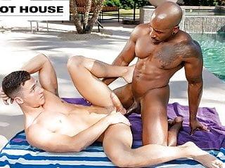 HotHouse – Ebony Max Konnor's Girthy Member Satisfies BF