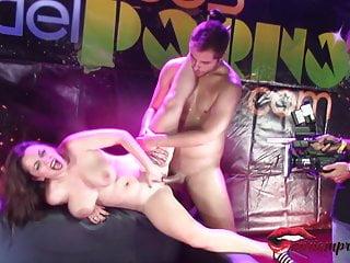 I fucked a busty exhibitionist miriam prado...