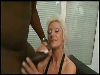 Granny in bbc interracial...