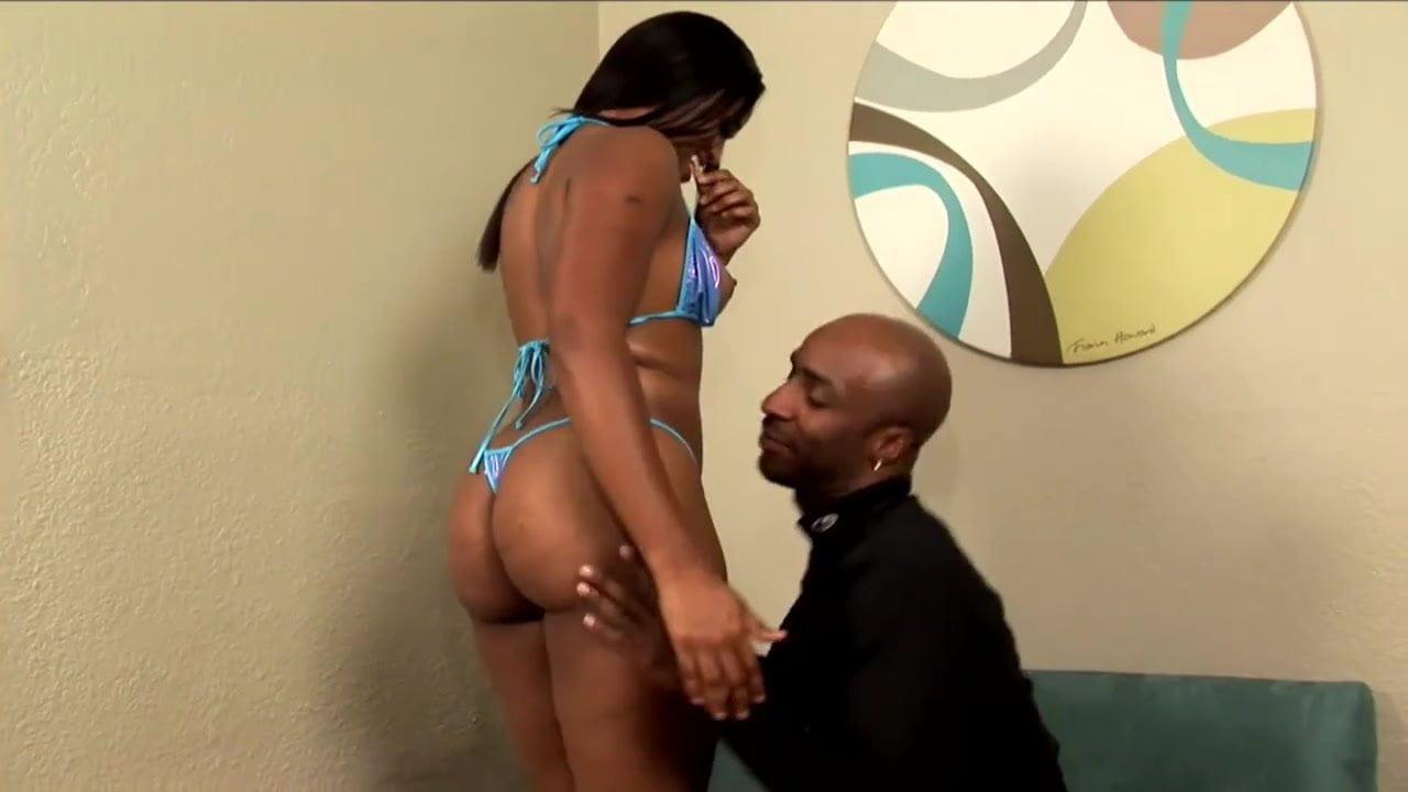 Ebony Licking Black Pussy