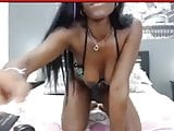 Skinny Black Babe