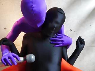 zentai girl vibrating 2