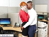 Naughty america new guy gets lucky with the bosses wife