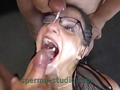 Cum Cum Secretary Nora - Sperma-Studio - Long Clip - 10214