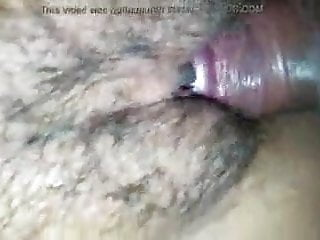 Milf's Hairy Pussy Creampied