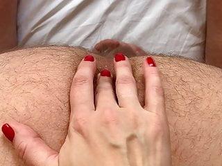 She fingers my ass