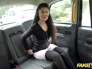Fake taxi indian marina maya bounces on john...