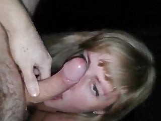 Russian home bitch suck cock and balls