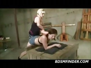 mom And not her daughter Spank Wax And Masturbate
