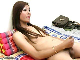 Feminine beauty strips red panties and wanks...