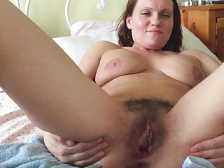 Mature hairy wife masterbation