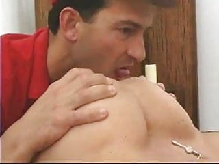 Delivery Boy Gets To Fuck This Big Tittie Blonde