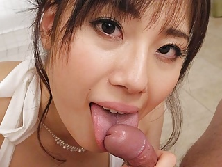 Japanese lady, Azusa Nagasawa in POV action, uncensored