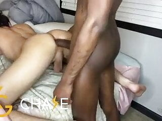Making Him Squeal With BBC Inside Him