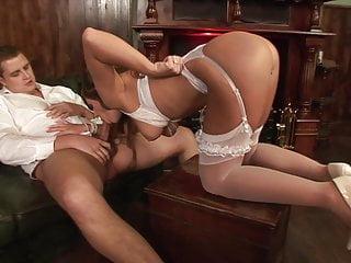 Group Sex Stockings video: 2 Big Dicks 1 Bride