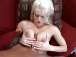 Sweet Bright Blonde young girl with big tits