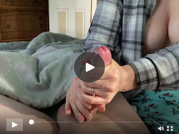 busty wife edges  ruins  cum on her hands and postcum playsexfilms of videos
