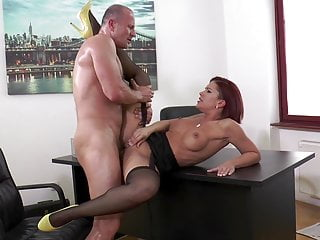 Kathy Fuckdoll Black Stockings & Yellow Shoes Fucking