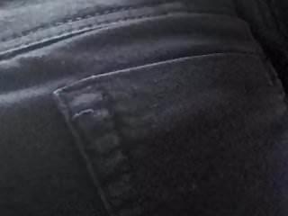 Candid mature ass