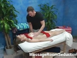 Teen Whore Seduced on Massage Table