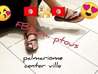 Quinne's feet