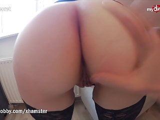 MyDirtyHobby Creampie anale per questa giovane adolescente tettona