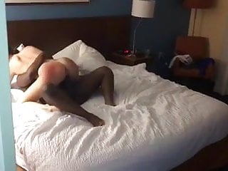 Husband comes home to find wife fucking BBC bull
