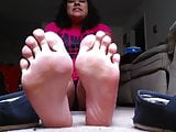 smelly latina bbw toms and feet