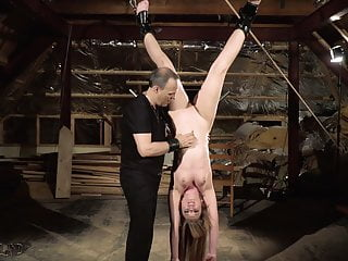 Young teen gets punished in hardcore BDSM and bondage porn
