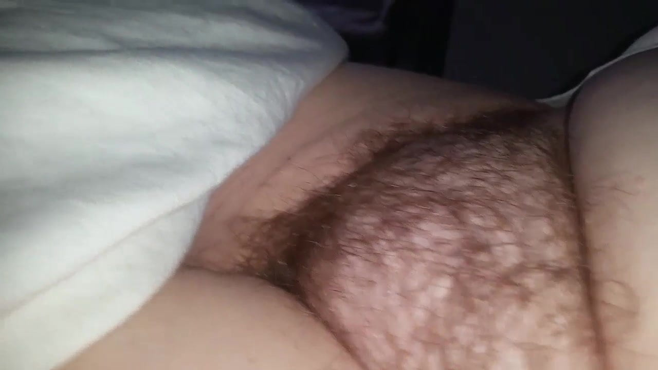 Mature Hairy Masturbation Solo