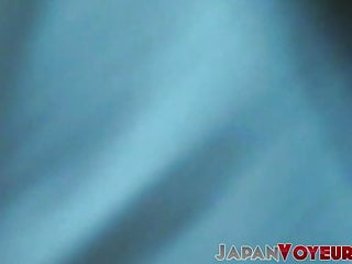 Adorable Japanese nubile taped using sex toys for pleasure