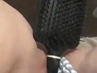 Amateur Teen Girl Comb Masturbation