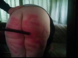 Crying spanking...