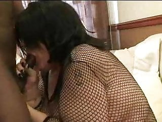Chav slut with glasses ploughed