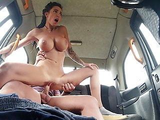 A horny car mechanic seduced a busty Slovak girl