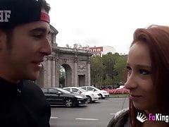 Monica Neni is crazy for public sex around Madrid